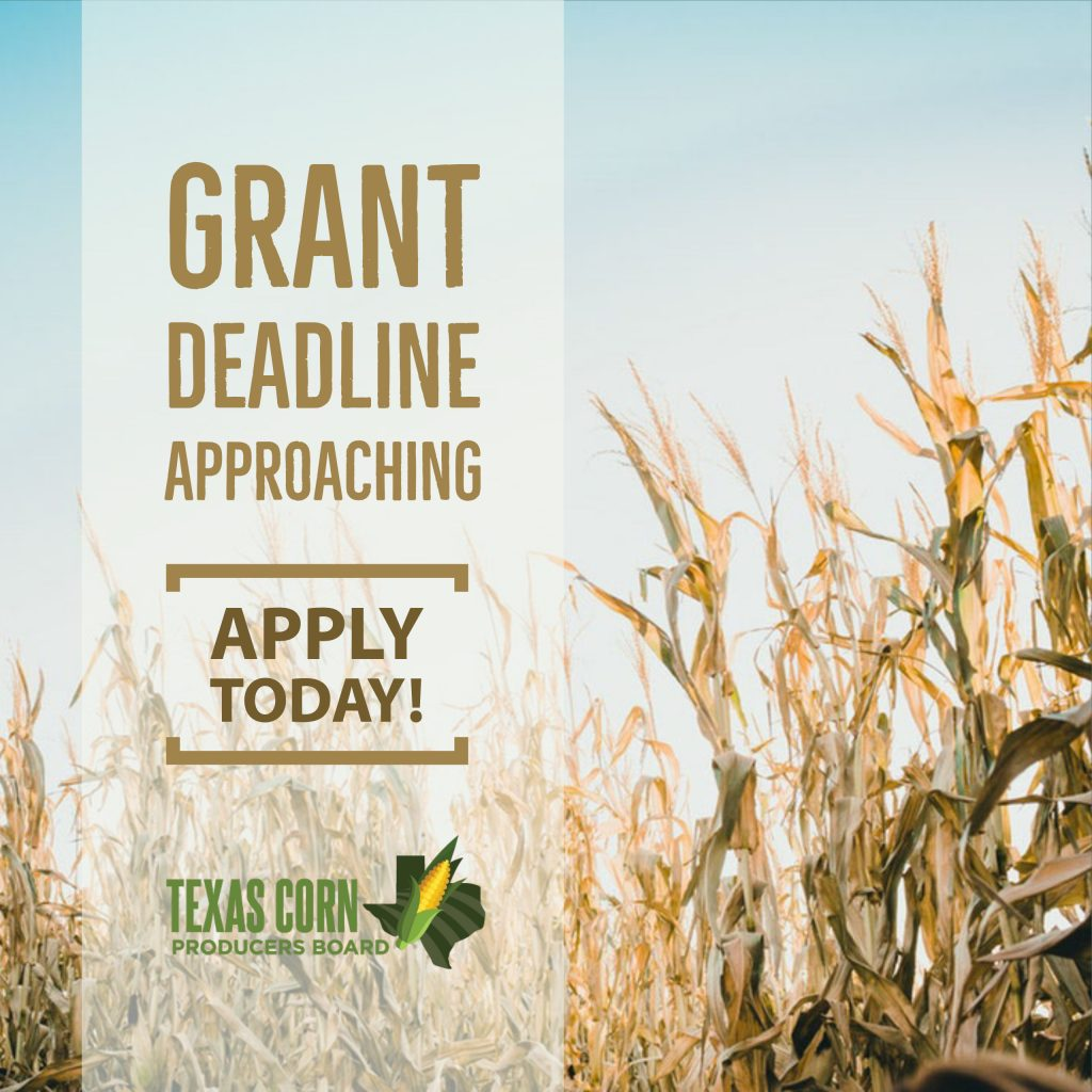 Young Farmer Grant Deadline