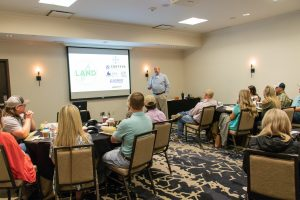 LAND participants learn from industry specialists.