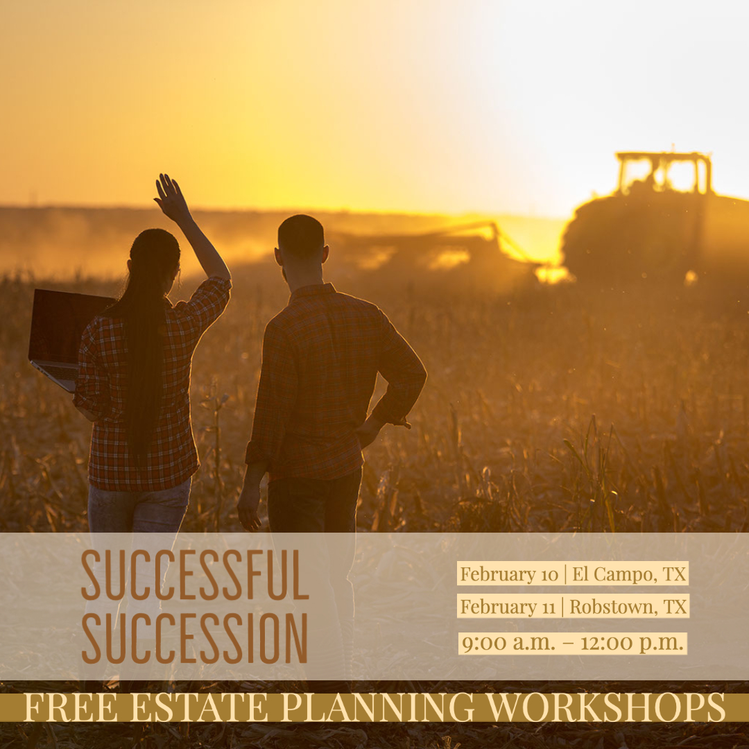 TCP to host Successful Succession workshops